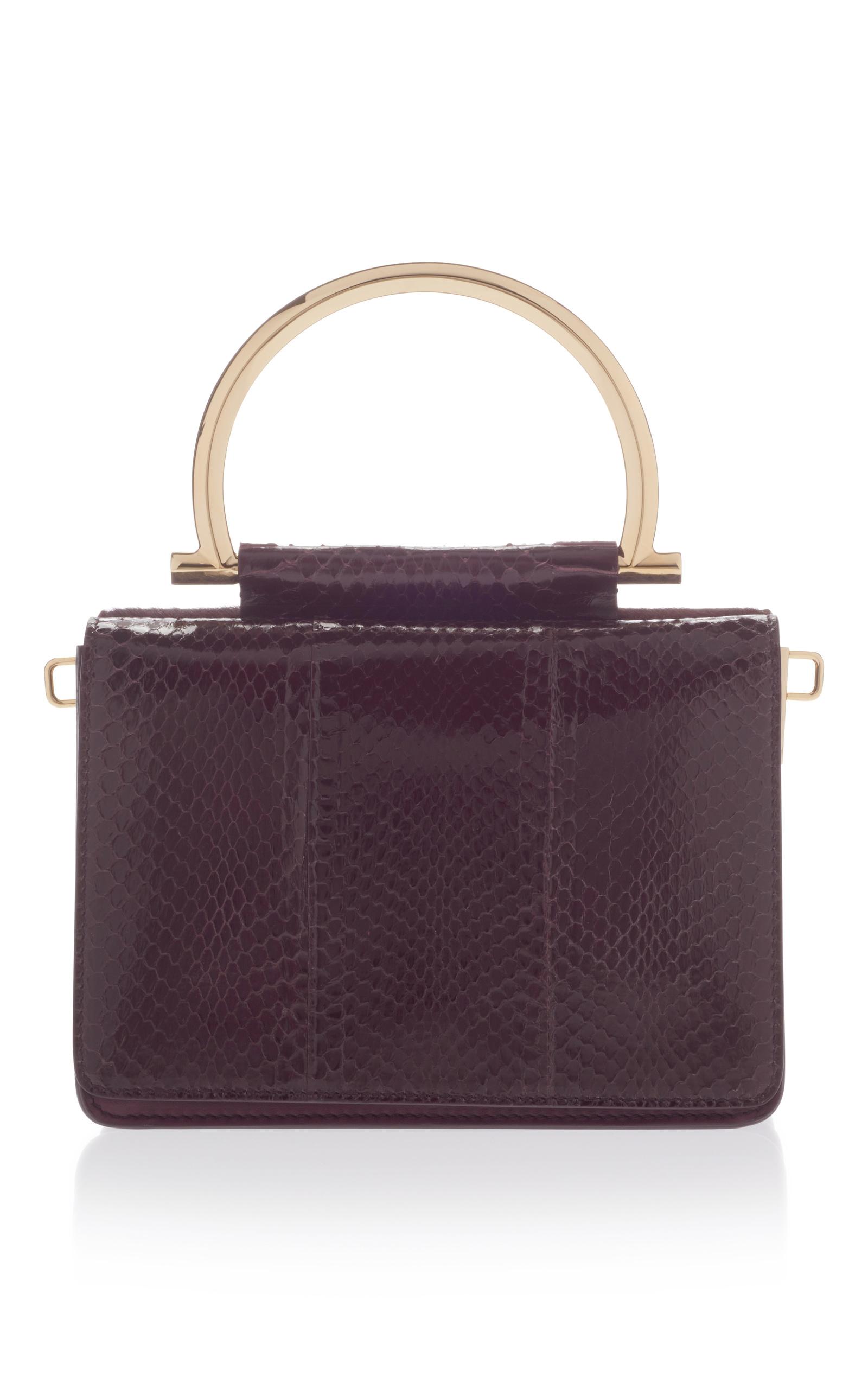 6e6c302da7 Mina Shoulder bag with Top Handle by Salvatore Ferragamo