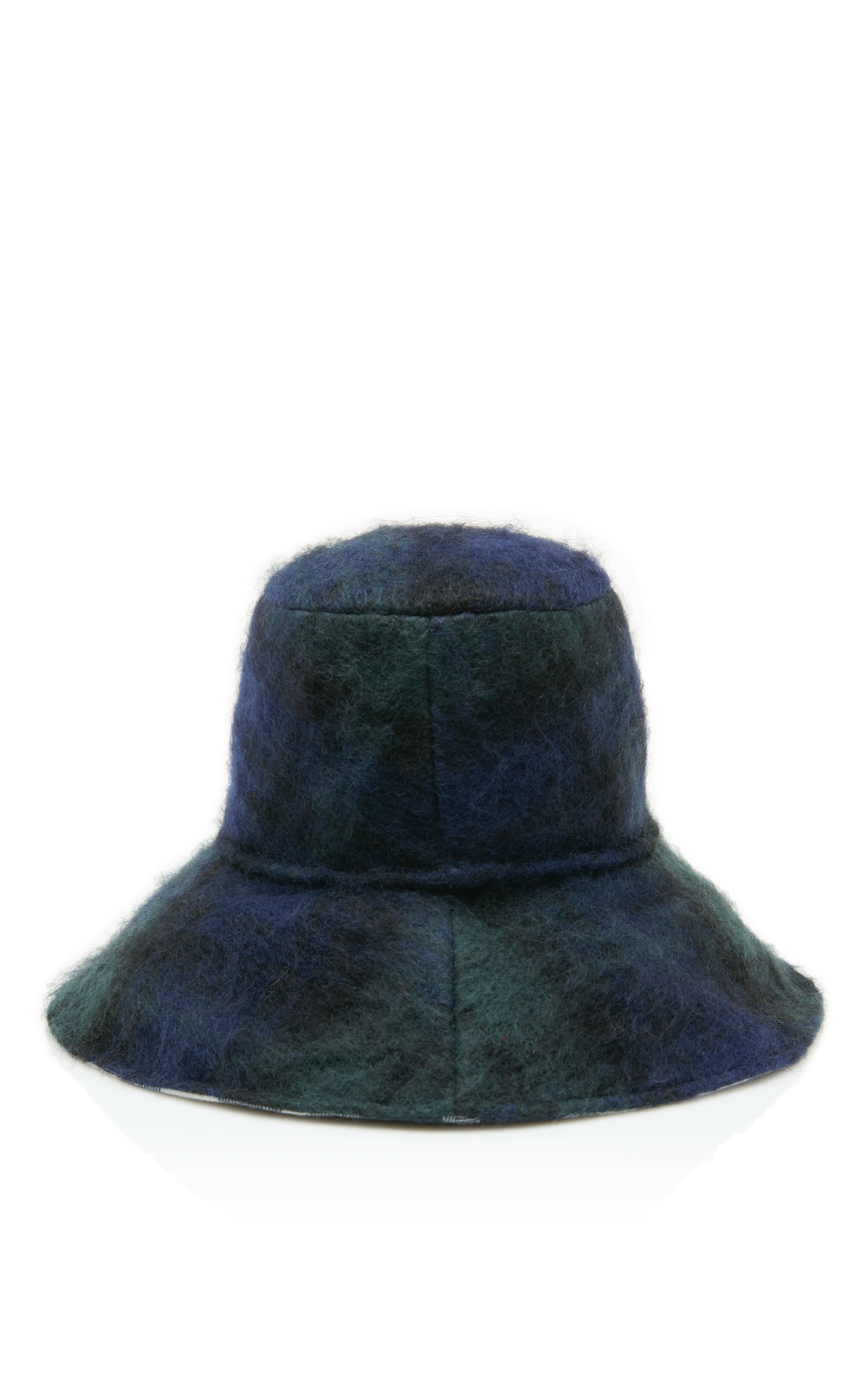 Isabella Checked Wool Bucket Hat Maison Michel 100% Authentic Cheap Price Clearance Visa Payment Best Wholesale For Sale Low Shipping Online LAtkx3uZe