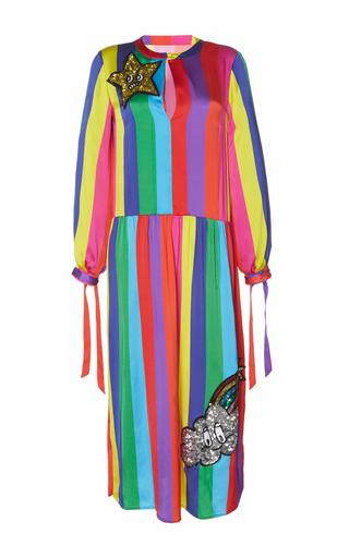 Medium mira mikati multi sequin monster rainbow dress
