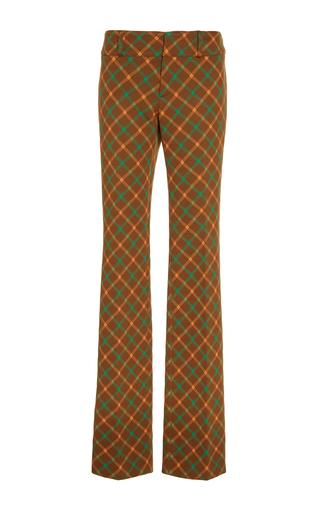 Medium marni brown checkered trousers 4