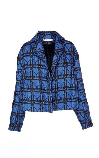 Medium marni blue checkered jacket