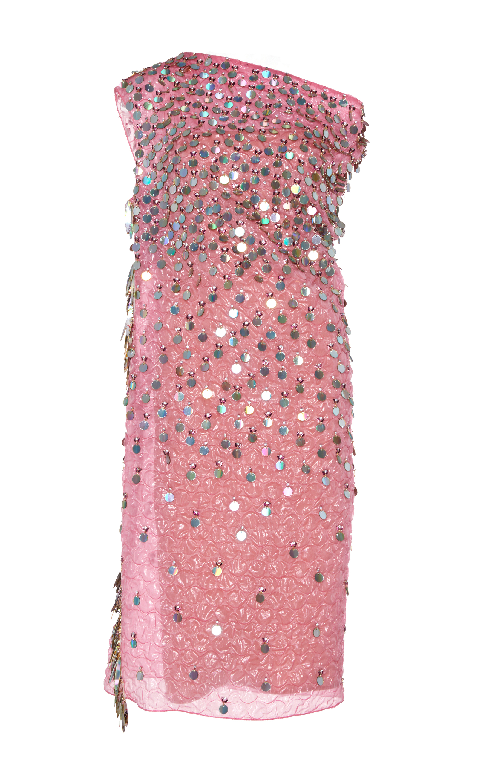 Off the Shoulder Sequin Dress by Marni - Moda Operandi