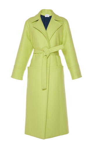 Medium pallas yellow barbosa trench coat