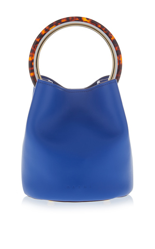 Medium marni blue small top handle bag 2