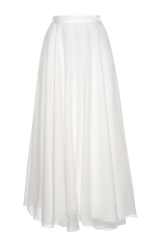 Medium lanvin white midi ballerine skirt