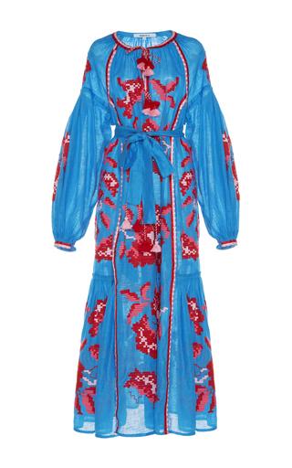 Medium march11 multi rose power maxi dress