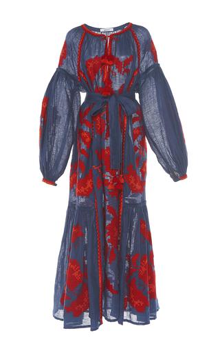 Medium march11 navy rose power maxi dress