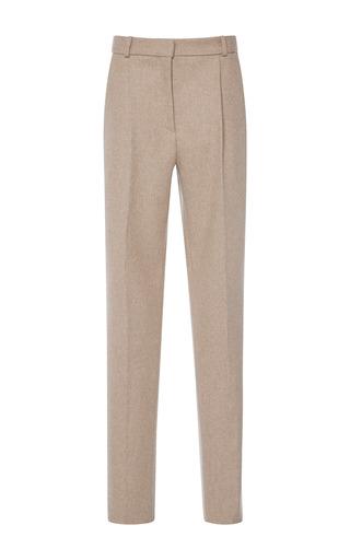 Medium christopher kane neutral classic wool trouser