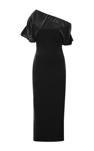 Medium christopher kane black stretch velvet dress