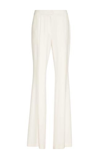 Medium goen j white flared trousers