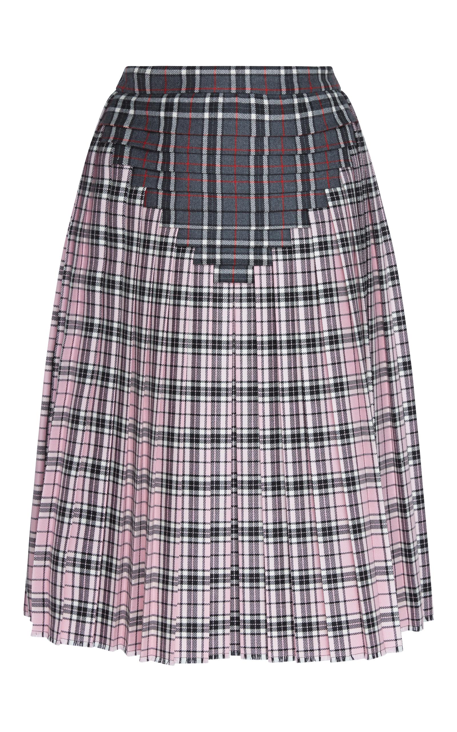 1bbfda78aa Printed Pleated Skirt by Marco de Vincenzo   Moda Operandi