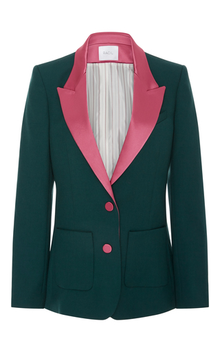 Medium racil green contrast yorkshire jacket