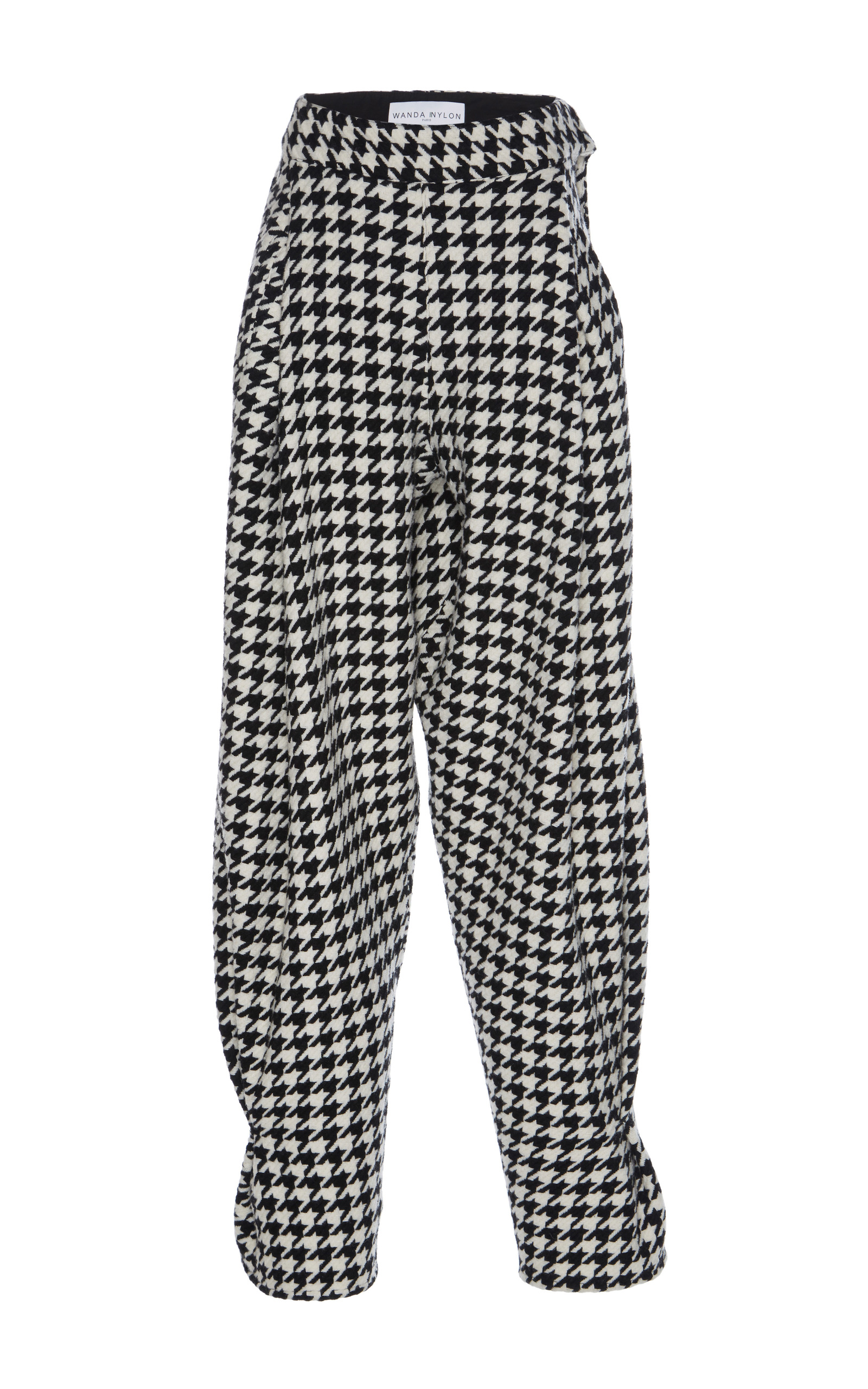 4373cc9faca901 Houndstooth Check Harem Pants by Wanda Nylon | Moda Operandi