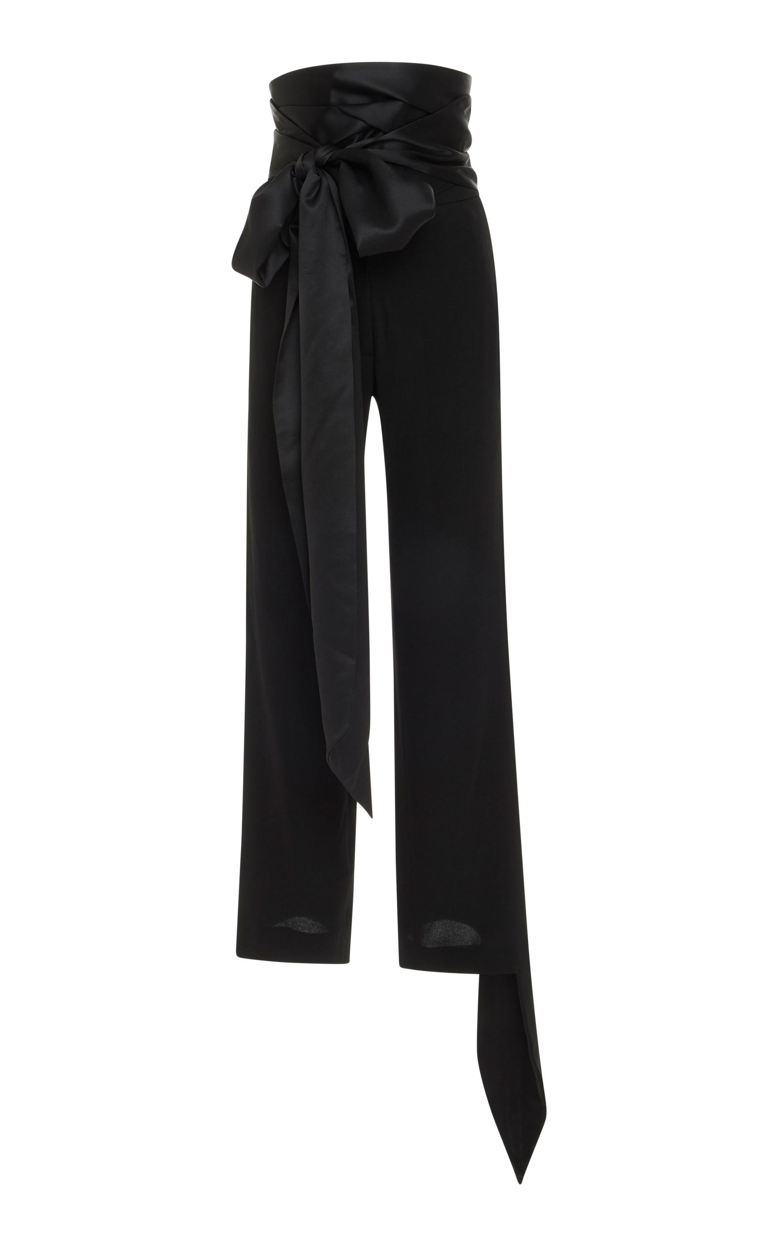 bow embellished trousers - Black J.W.Anderson xJJVmx1yk