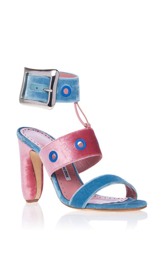 Medium manolo blahnik pink cornelius sandal
