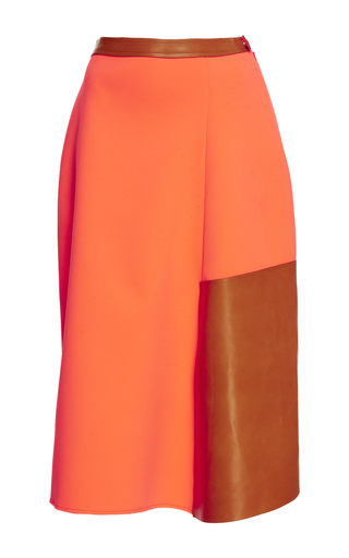 Medium loewe orange balloon skirt