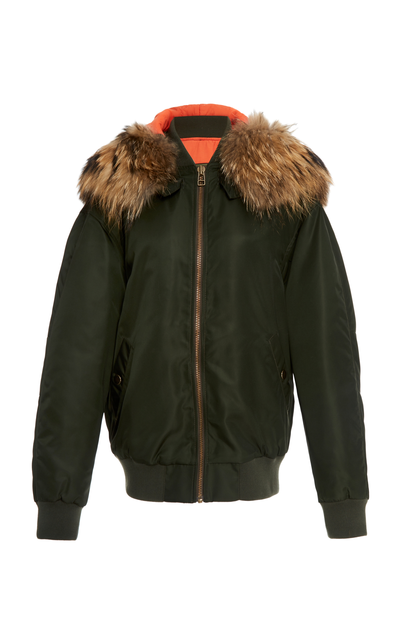 Mr & Mrs Italy multi coloured fur lined bomber jacket Get The Latest Fashion 9yPmK