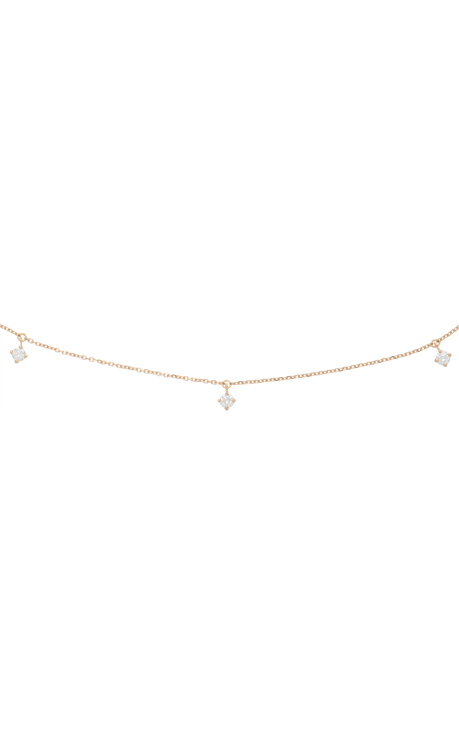 Or Rose 18 Collier De Diamants D'or Vanrycke tsa14qF