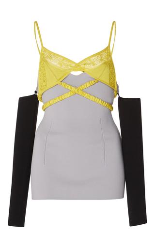 Medium j w anderson grey bra knit top with sleeves 2