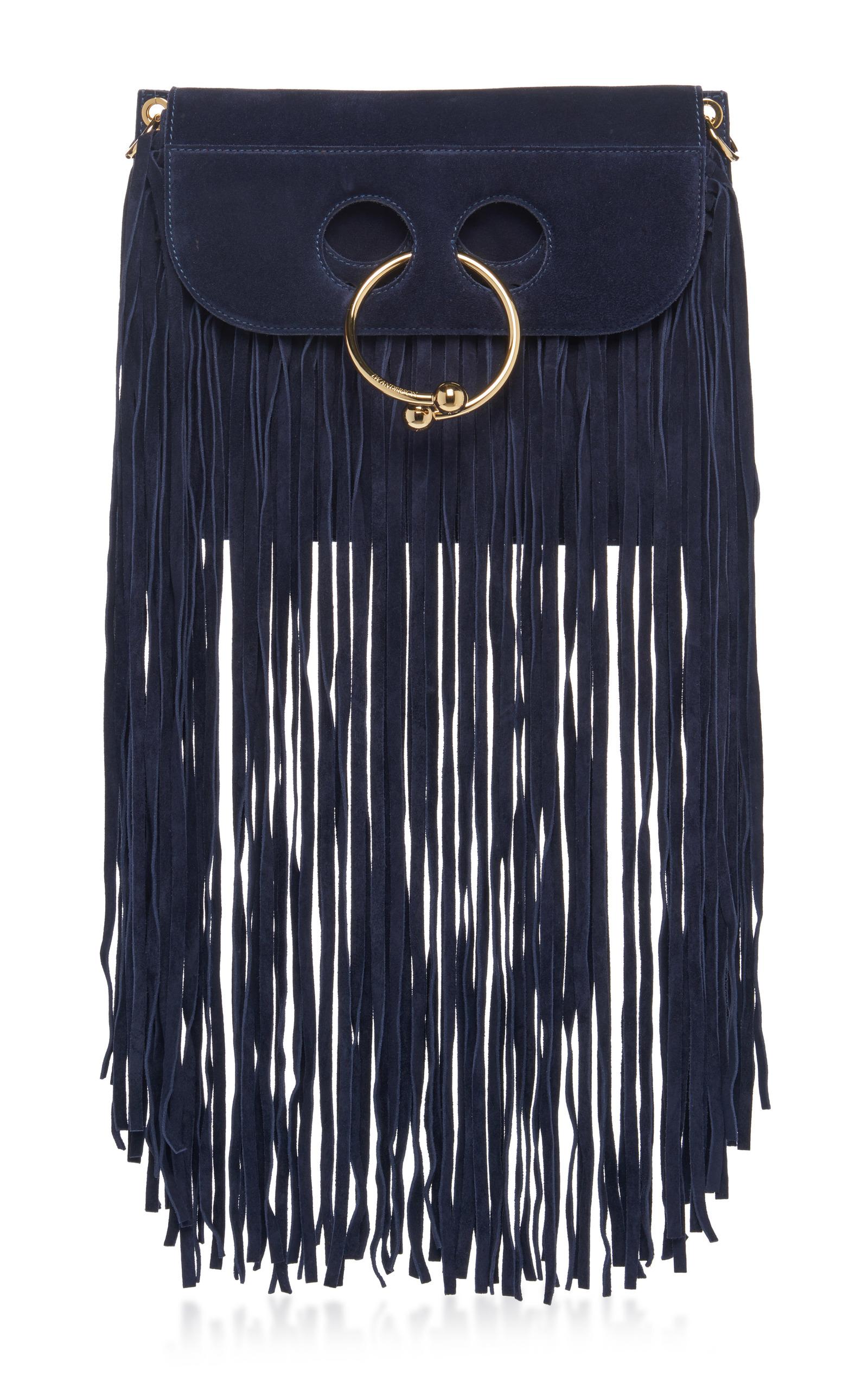 Shoulder bag with fringes J.W.Anderson 48AYmDjePc