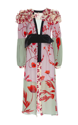 Medium johanna ortiz print bellifolia belted kimono robe