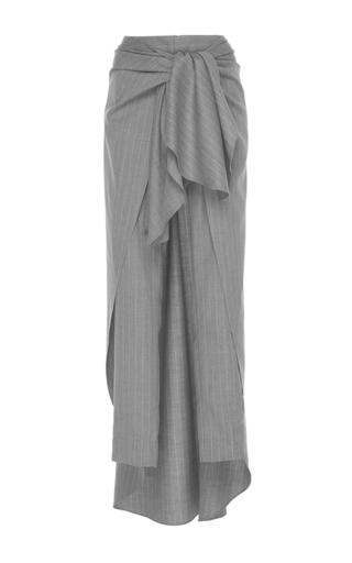 Medium johanna ortiz stripe ashkali wrap wool pant
