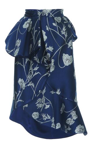 Medium johanna ortiz print cingaro ruffled jacquard skirt