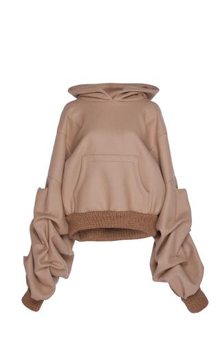 Medium johanna ortiz brown janis puff sleeve sweatshirt