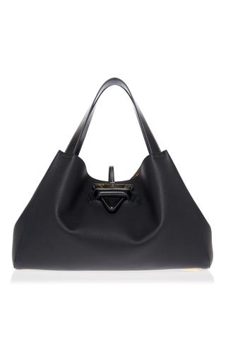 Medium loewe black barcelona tote bag