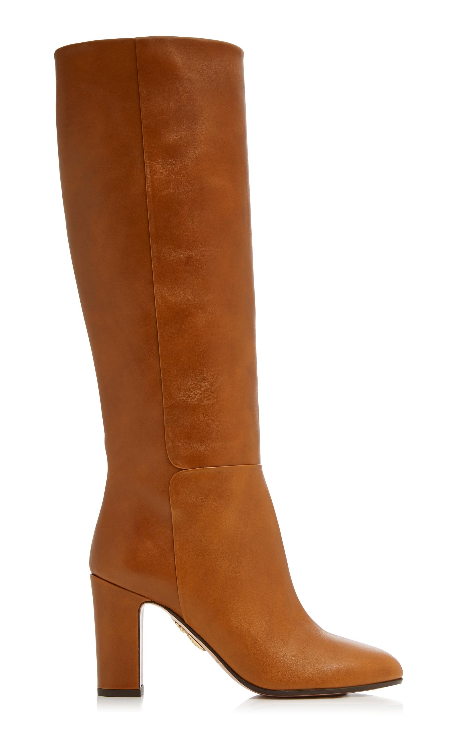 Brera Leather BootsAquazzura nhntOeyF