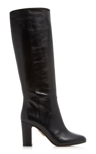 AQUAZZURA   Aquazzura Brera Leather Boots   Goxip
