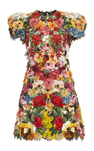 Medium dolce gabbana floral floral mini dress