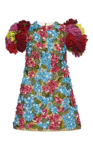 Medium dolce gabbana floral 3d floral dress