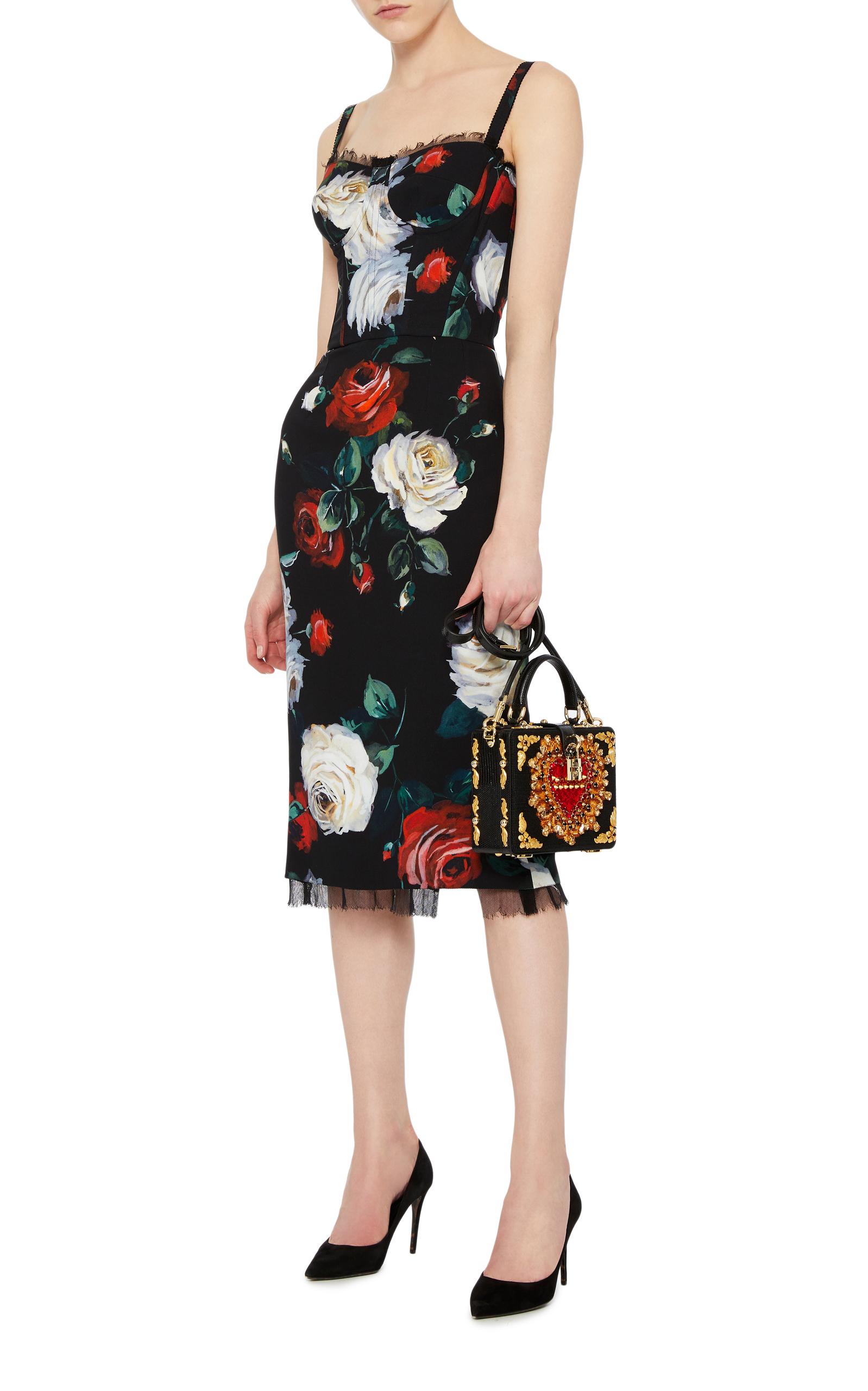 Floral Cocktail Dress by Dolce & Gabbana | Moda Operandi
