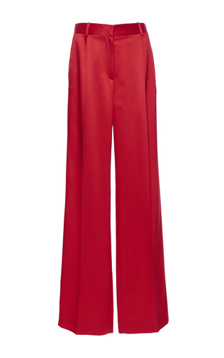 Medium givenchy red heavy satin trousers