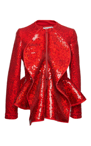 Medium givenchy red jacket in sequins