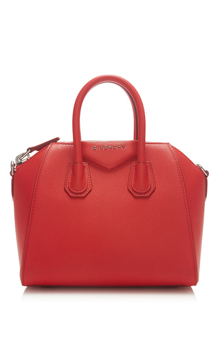Medium givenchy red mini antigona bag