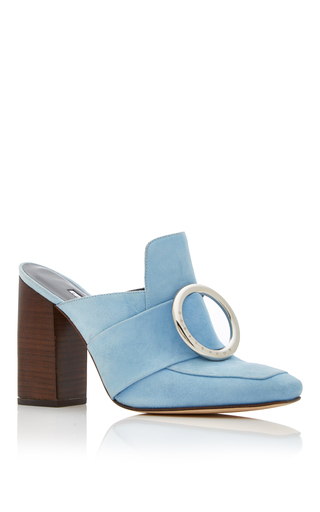 Medium dorateymur blue munise buckle mule