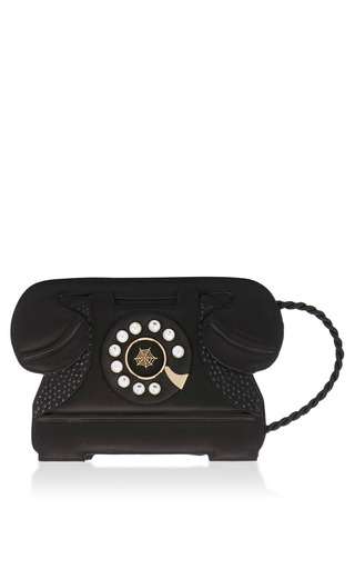 Medium charlotte olympia black dial a to accessorise shoulder bag