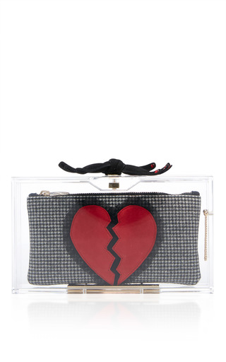 Medium charlotte olympia multi pandora broken heart clutch