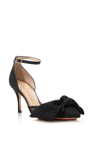 Medium charlotte olympia black adele d orsay heel