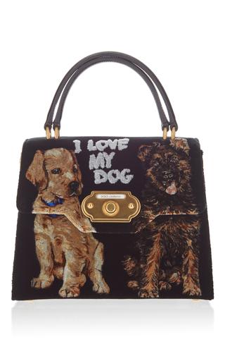 I Love My Dog Top Handle Bag By Dolce Amp Gabbana Moda