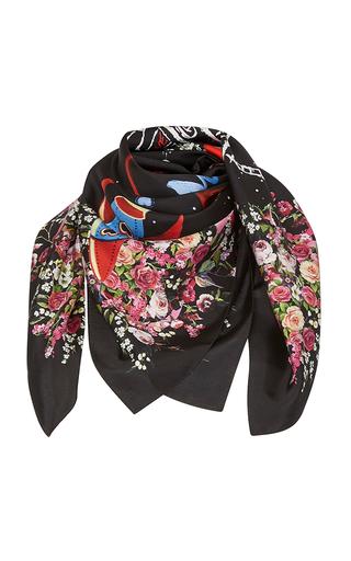 Medium dolce gabbana black astronaut scarf