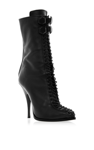 Medium givenchy black bondage boot