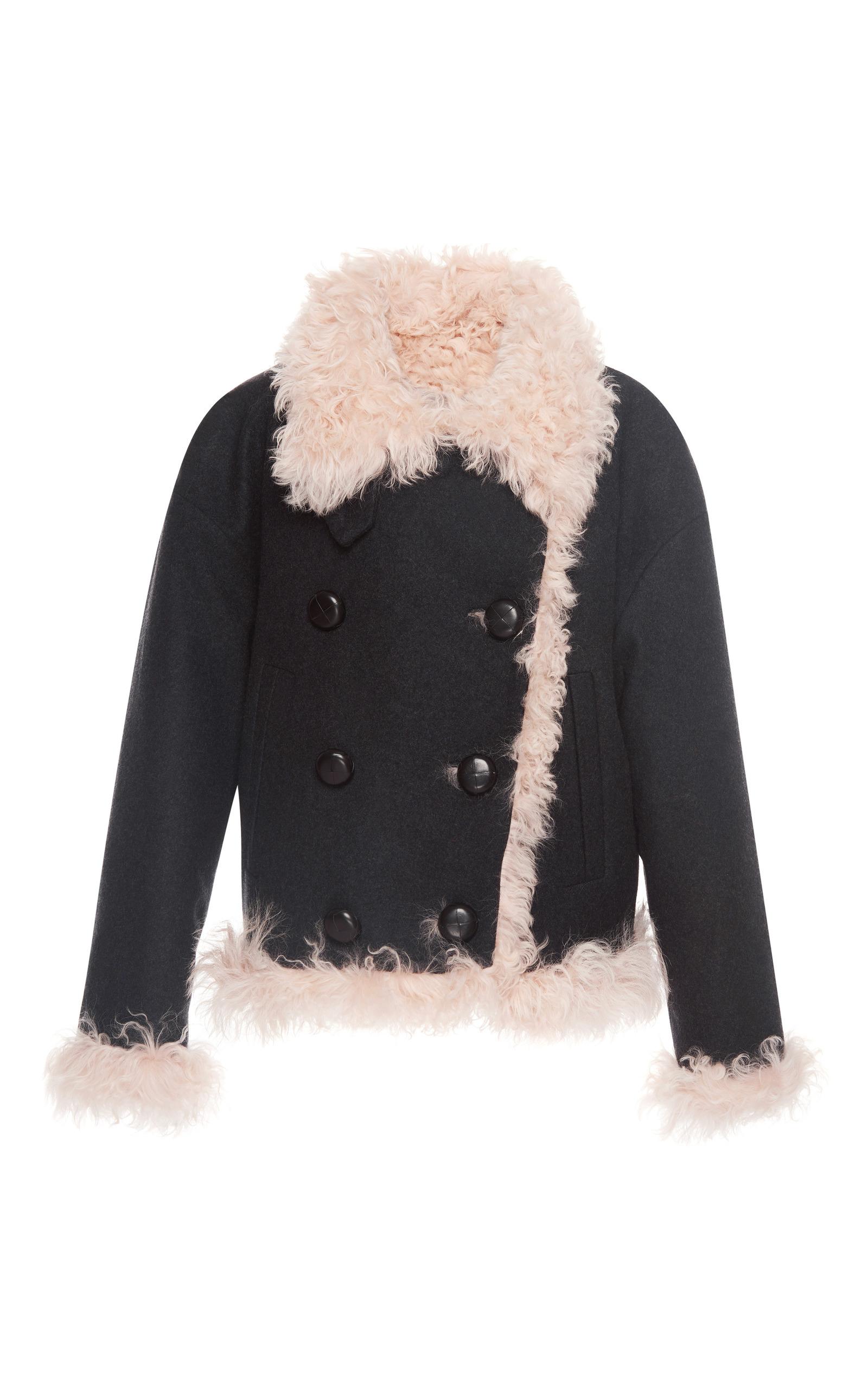 Belia Shearling Wool-Blend Coat by Isabel Marant | Moda Operandi