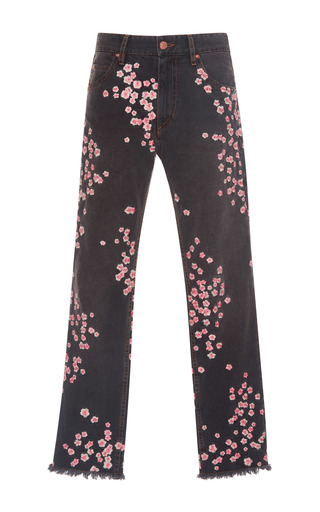 Medium isabel marant grey holan floral jean