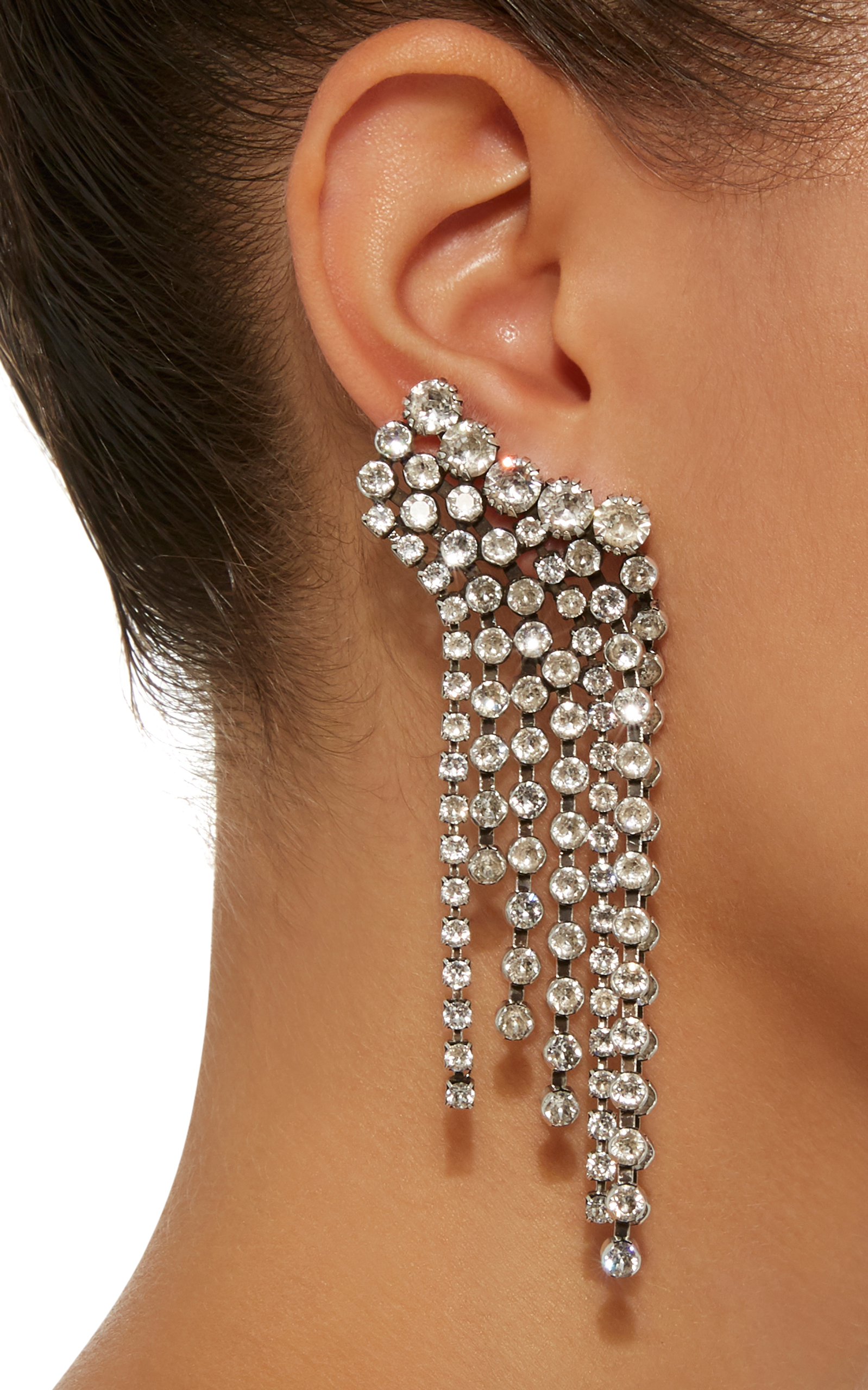 3d2955c51e0 Isabel MarantA Wild Shore Silver-Tone Crystal Earrings. CLOSE. Loading