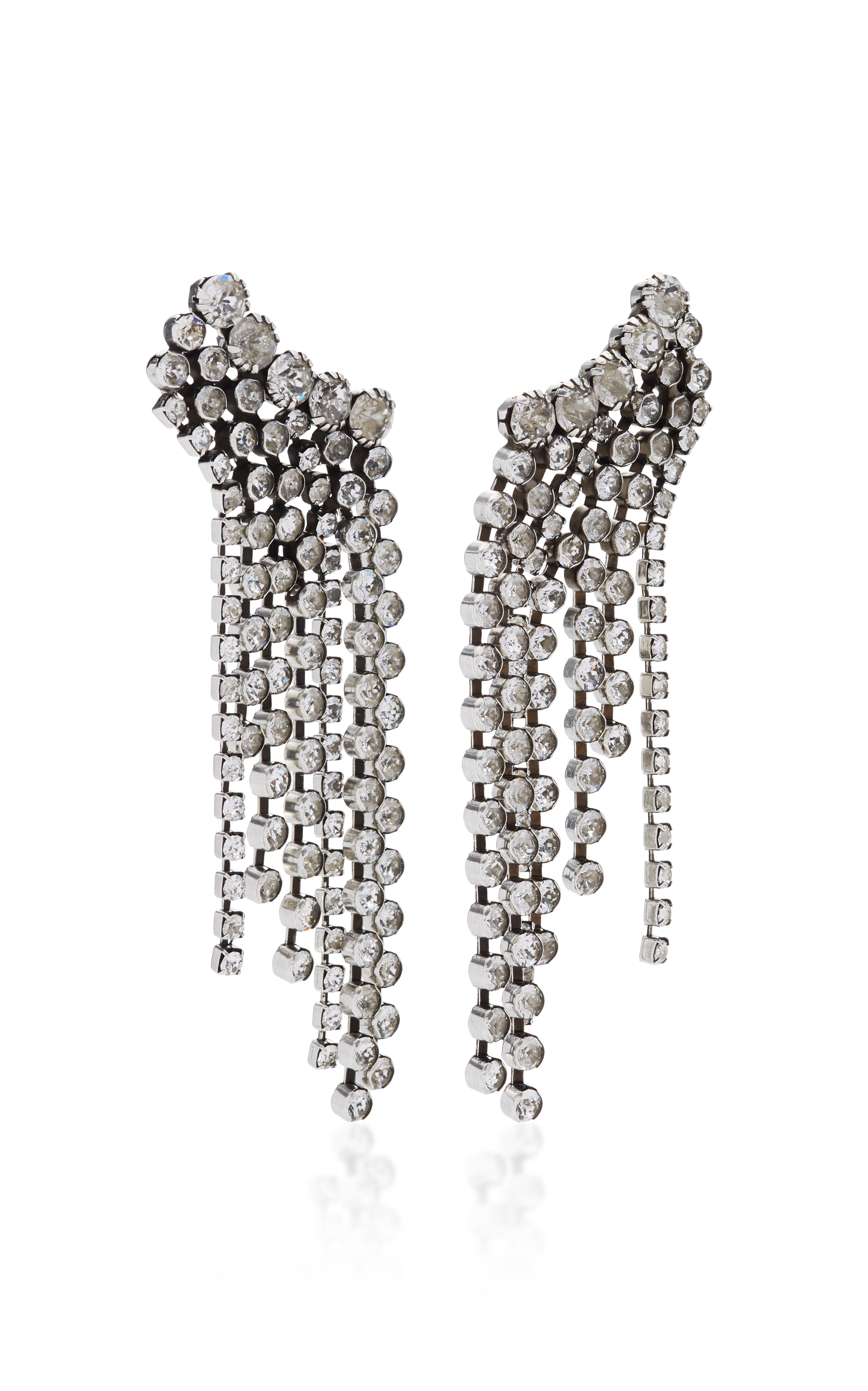 Isabel Marant Crystal-embellished earrings jhwkS