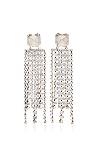Medium isabel marant silver blondie earrings