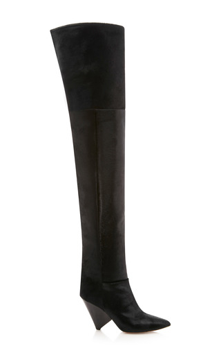 e42044fc7d7 Lostynn Calf Hair Boot by Isabel Marant
